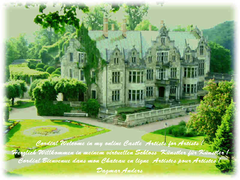 Artists for Artists Entrance Gallery - Foto Schloss und Park Altenstein, copyrights by Dagmar Anders